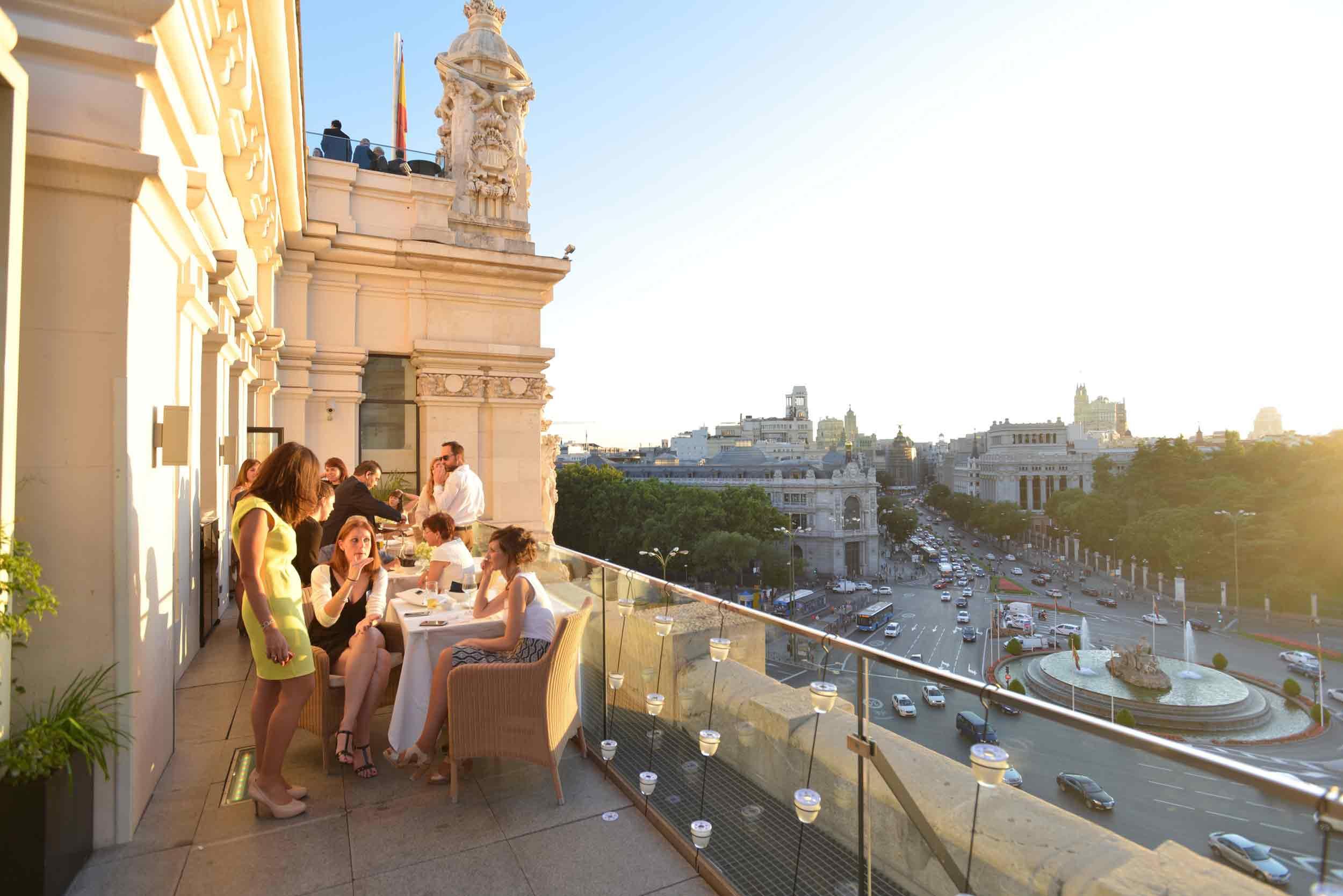 Restaurante Palacio De Cibeles Gastronomía Del Palacio De
